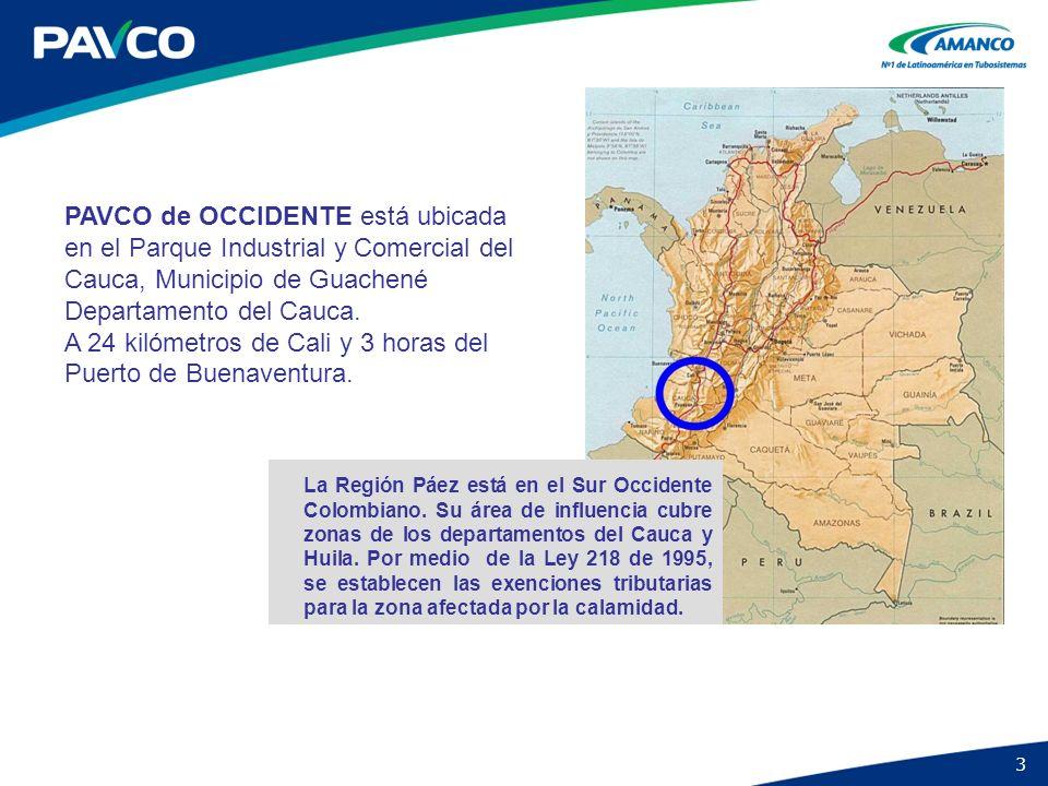 3 La Región Páez está en el Sur Occidente Colombiano. Su área de influencia cubre zonas de los departamentos del Cauca y Huila. Por medio de la Ley 21