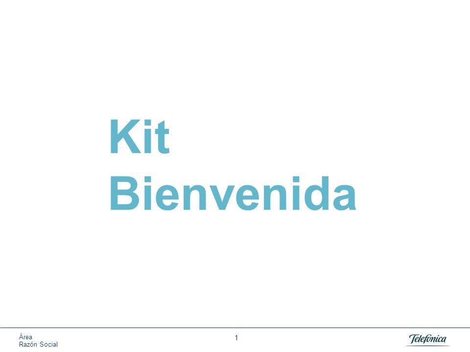 Área Razón Social 1 Kit Bienvenida