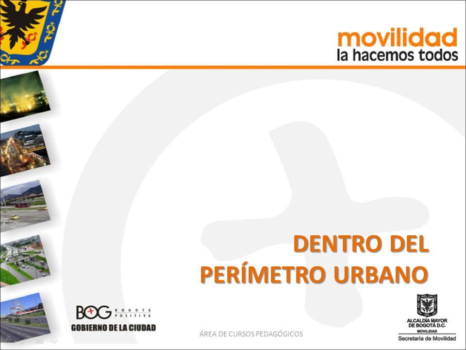 ACERA Franja longitudinal de la vía urbana, destinada exclusivamente a la circulación de peatones.