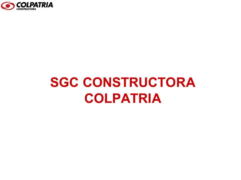 SGC CONSTRUCTORA COLPATRIA