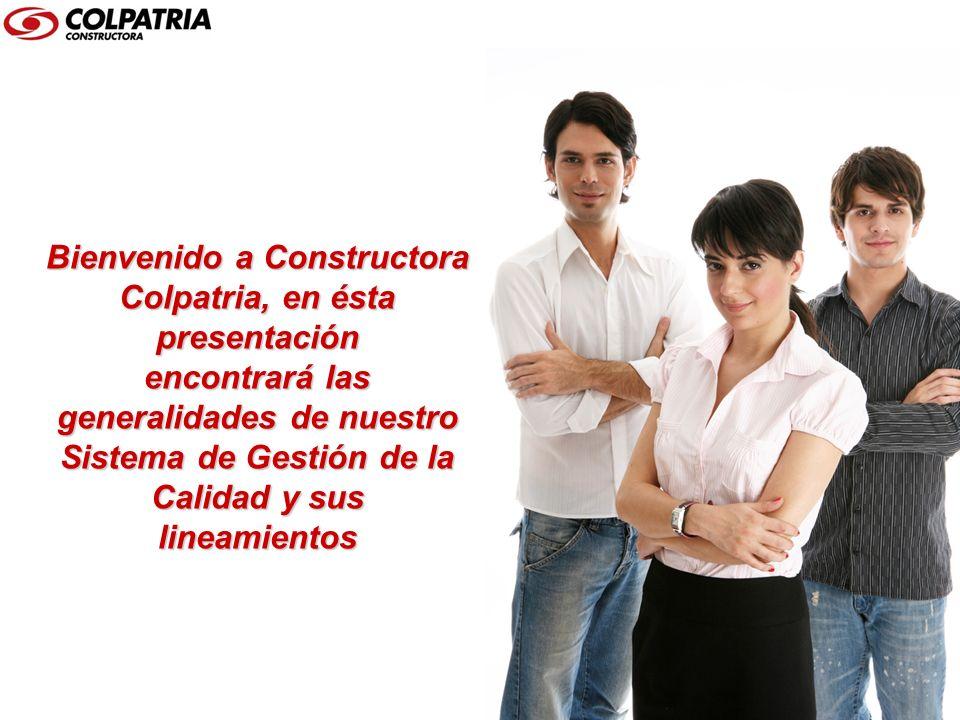 OBJETIVOS Conocer el SGC de la Constructora Colpatria.
