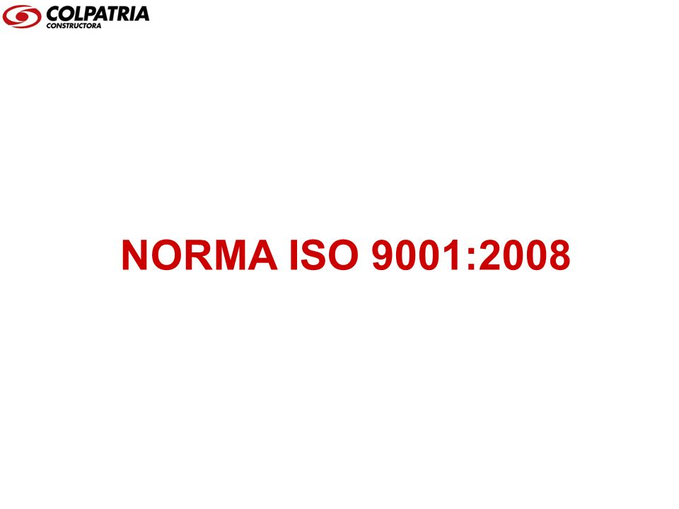 NORMA ISO 9001:2008