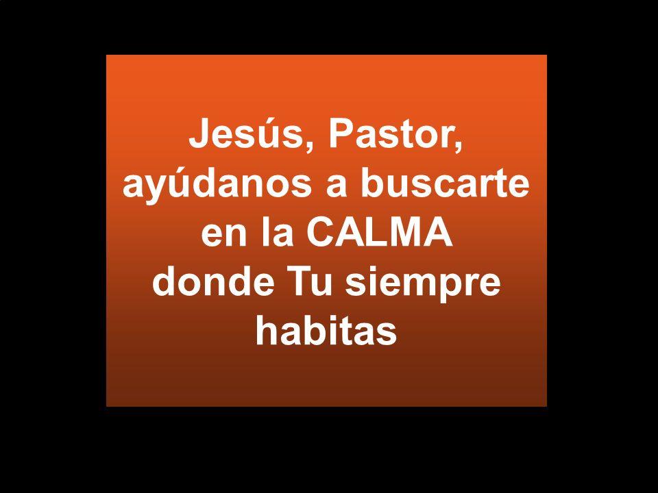 ¿Qué líderes escuchas? Deja que Jesús te enseñe con calma...