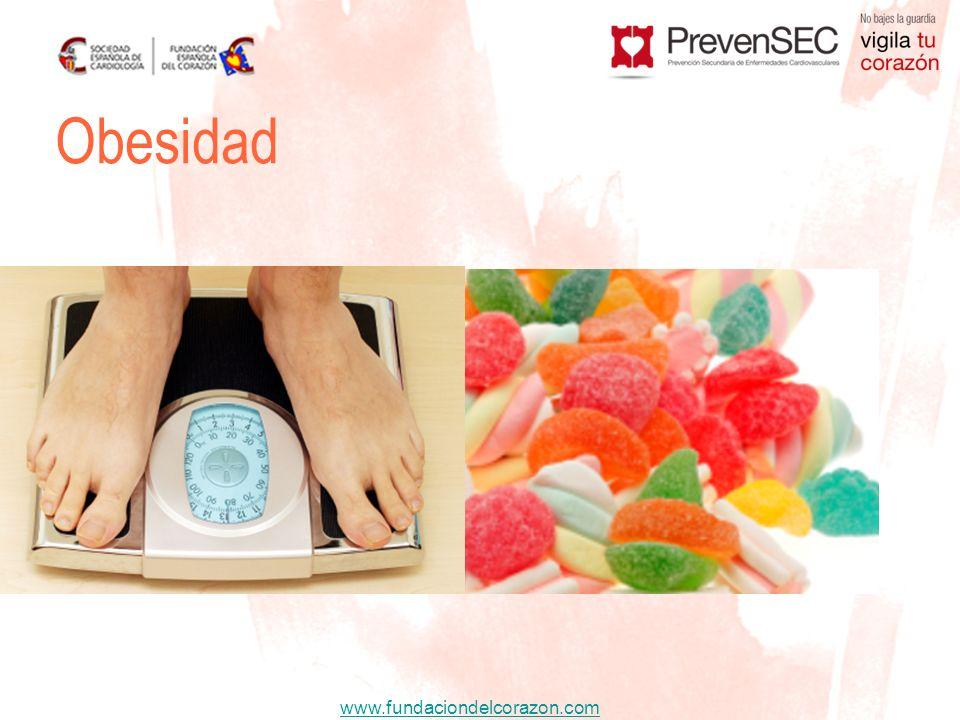 www.fundaciondelcorazon.com Obesidad