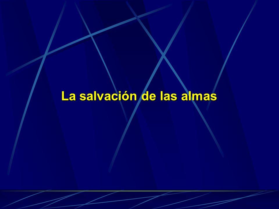 La salvación de las almas
