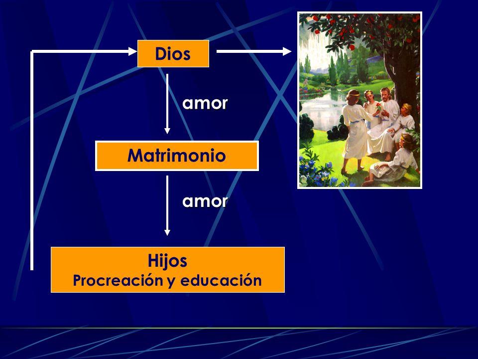 Dios Hijos Procreación y educación Matrimonio amor amor