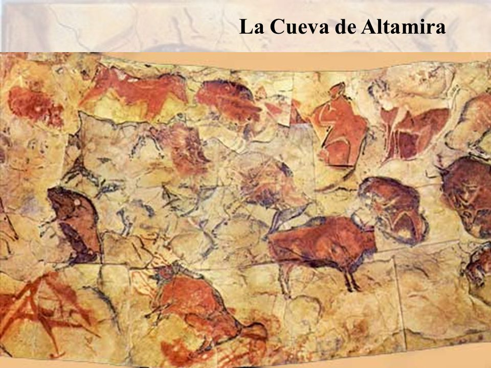 La Cueva de Altamira es conocida por sus famosas pinturas rupestres de bisontes, ciervos y otros animales.