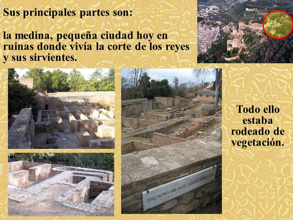 El Partal es el más antiguo de los palacios.