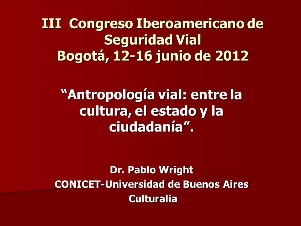 Antropología.