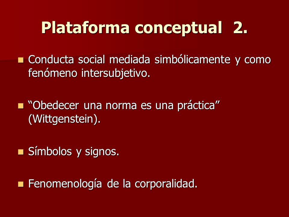 Plataforma conceptual 3.Prácticas viales como performances.