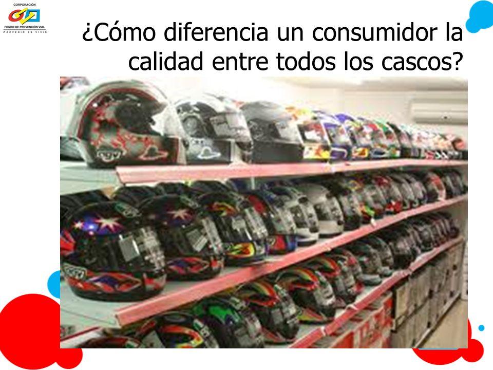 ¿Cómo diferencia un consumidor la calidad entre todos los cascos?