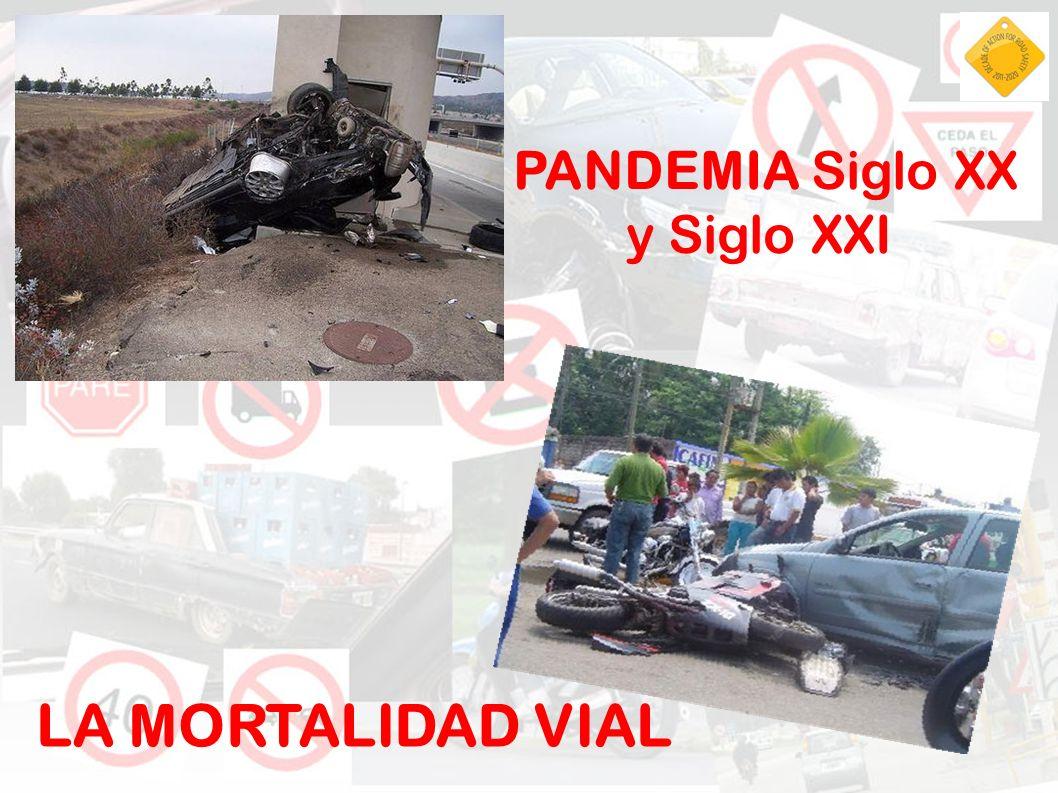 PANDEMIA Siglo XX y Siglo XXI LA MORTALIDAD VIAL