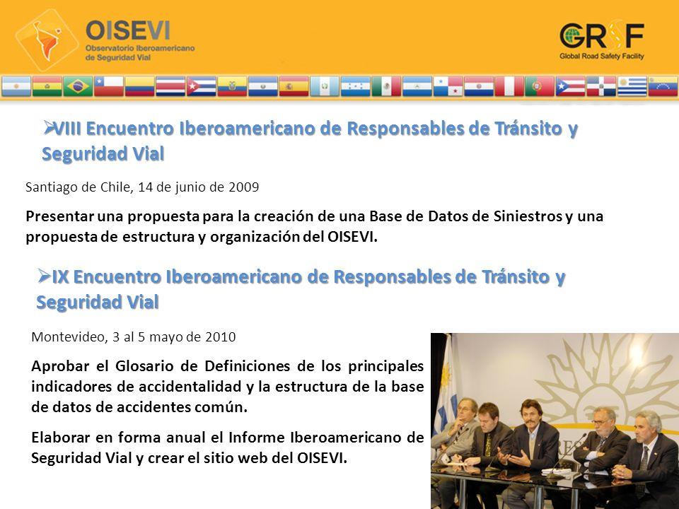 VIII Encuentro Iberoamericano de Responsables de Tránsito y Seguridad Vial VIII Encuentro Iberoamericano de Responsables de Tránsito y Seguridad Vial