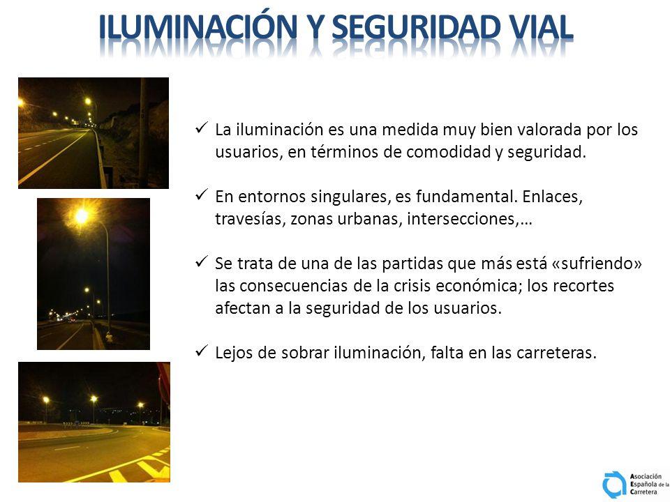 La iluminación es una medida muy bien valorada por los usuarios, en términos de comodidad y seguridad. En entornos singulares, es fundamental. Enlaces
