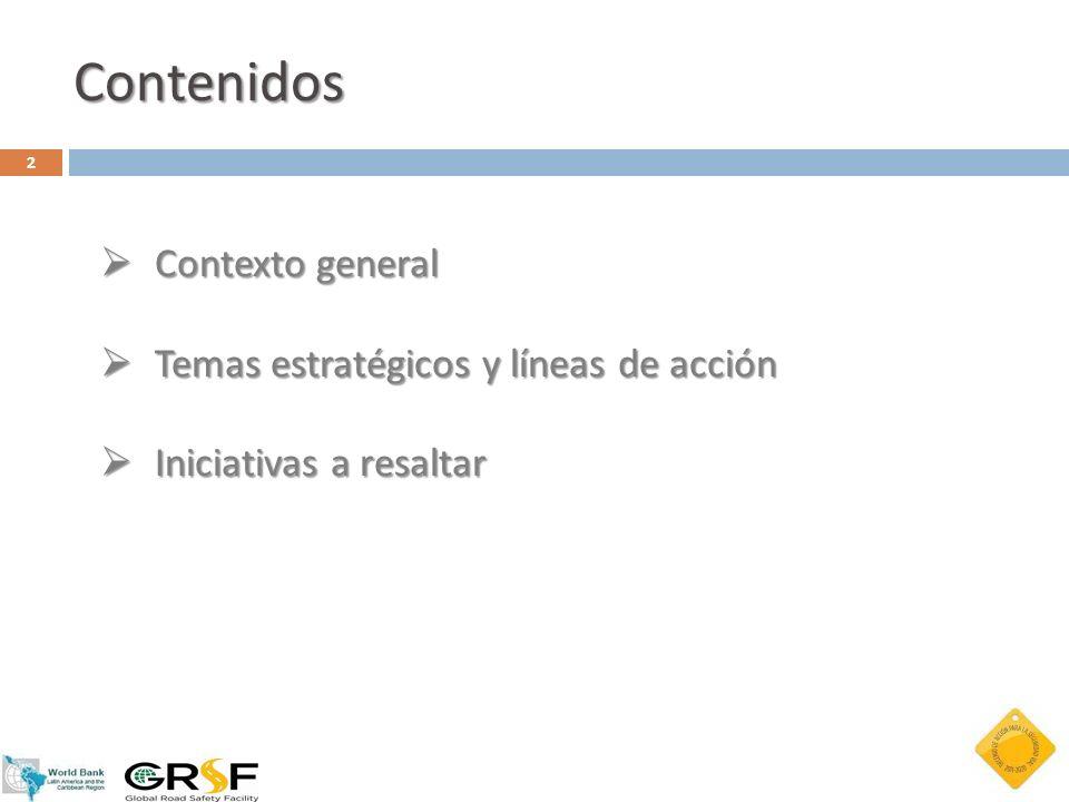 Objetivo: Crear una base de datos e indicadores de la seguridad vial de alta calidad como plataforma para la provisión de información cualitativa y cuantitativa en materia de seguridad vial en Iberoamérica y contribuir al diseño y aplicación de políticas públicas efectivas en materia de seguridad vial Gestionado a través del IRTAD-LAC (parte de la OECD) Observatorio Iberoamericano de Seguridad Vial (OISEVI)