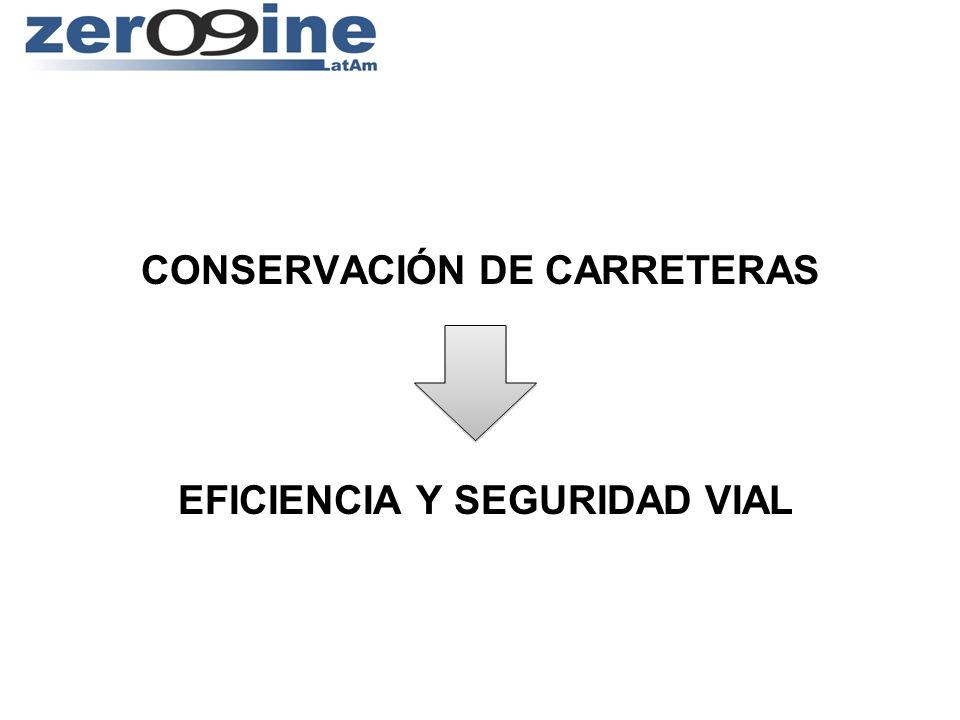 CONSERVACIÓN DE CARRETERAS EFICIENCIA Y SEGURIDAD VIAL
