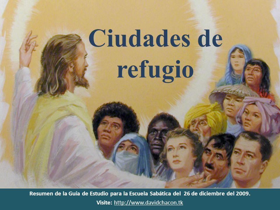 Resumen de la Guía de Estudio para la Escuela Sabática del 26 de diciembre del 2009. Visite: http://www.davidchacon.tkhttp://www.davidchacon.tk Ciudad