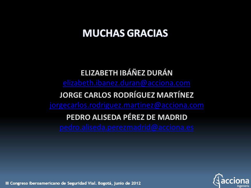 ELIZABETH IBÁÑEZ DURÁN elizabeth.ibanez.duran@acciona.com JORGE CARLOS RODRÍGUEZ MARTÍNEZ jorgecarlos.rodriguez.martinez@acciona.com PEDRO ALISEDA PÉR