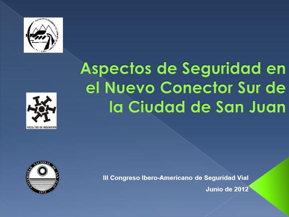 III Congreso Ibero-Americano de Seguridad Vial Junio de 2012