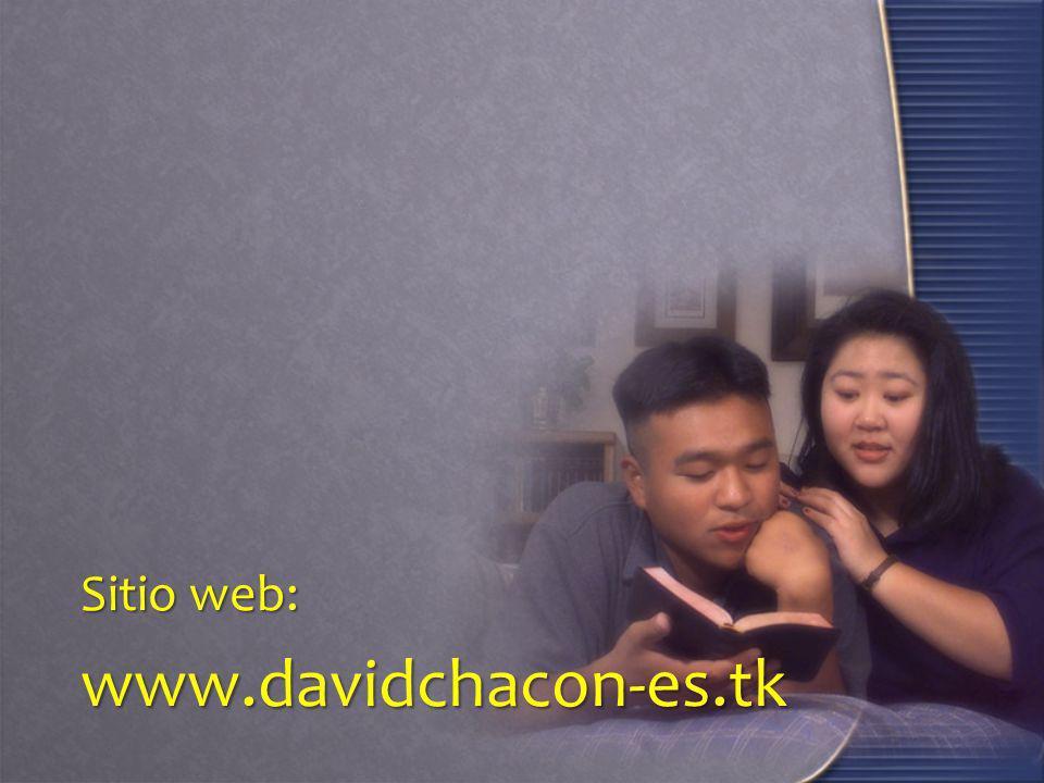Sitio web: www.davidchacon-es.tk