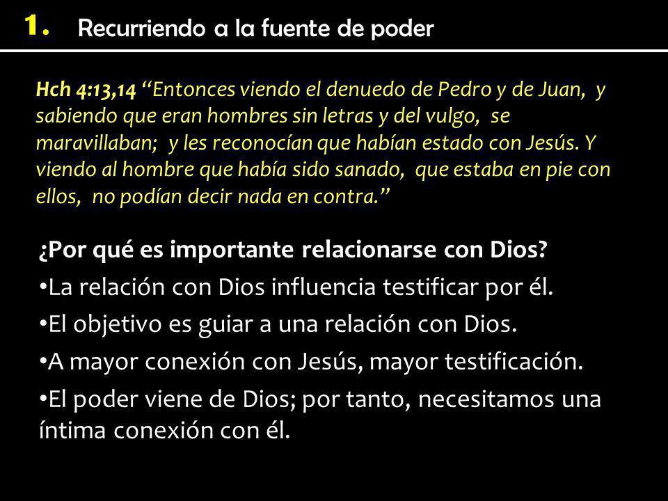 1. Hch 4:13,14 Entonces viendo el denuedo de Pedro y de Juan, y sabiendo que eran hombres sin letras y del vulgo, se maravillaban; y les reconocían qu