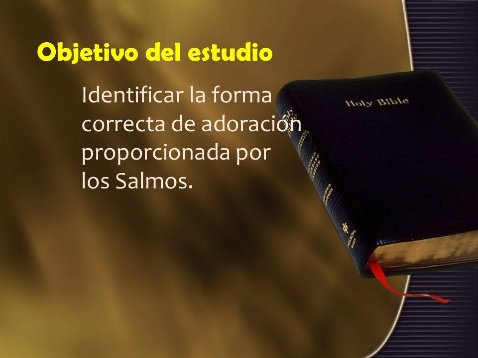 Estructura de estudio 1.Los salmos y el creador.2.Los salmos y el santuario.