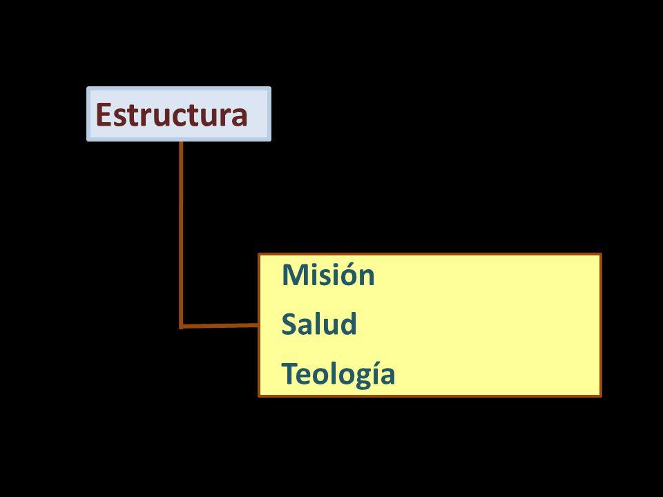 Misión Salud Teología Estructura