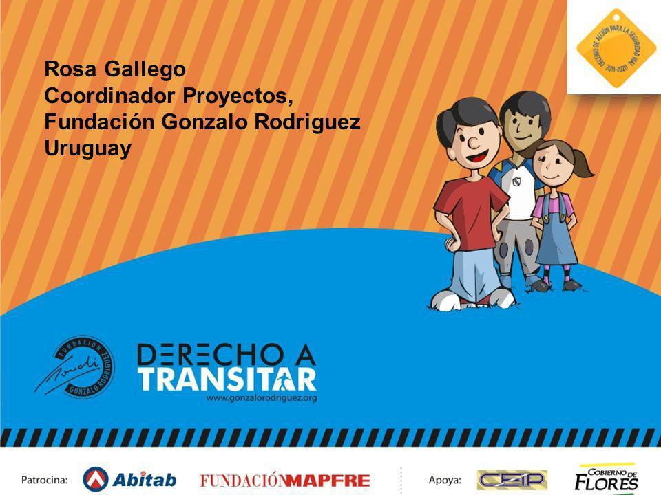 Rosa Gallego Coordinador Proyectos, Fundación Gonzalo Rodriguez Uruguay