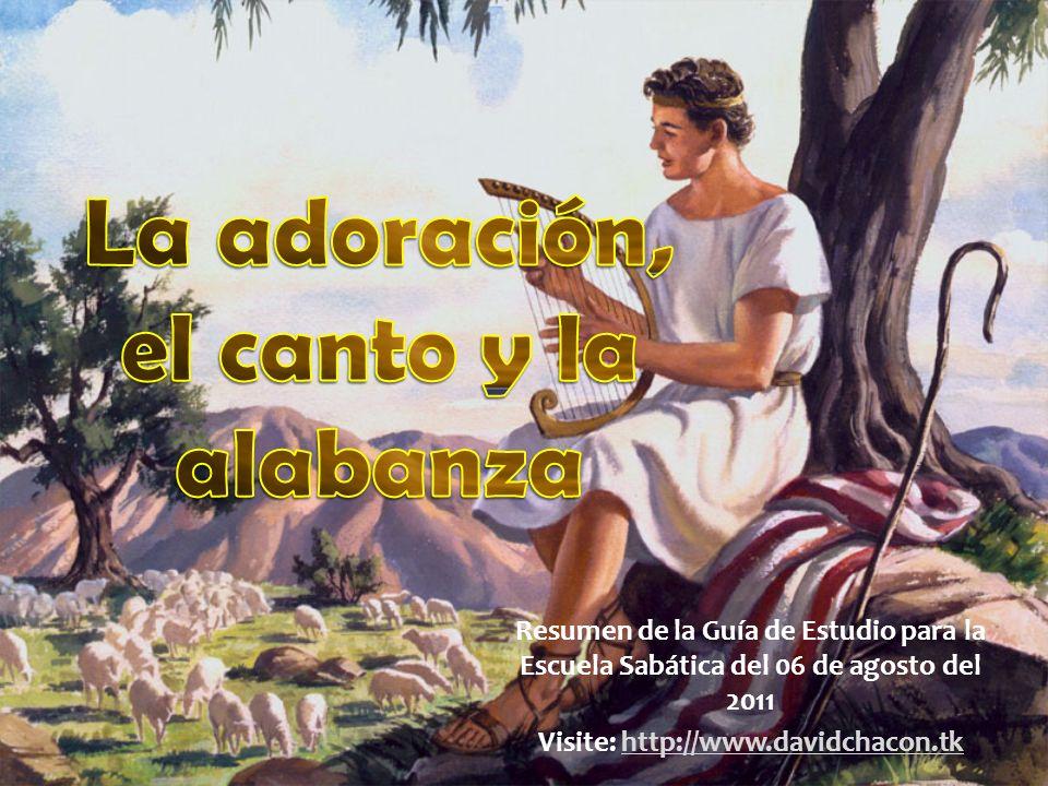 Texto clave Salmo 96:1 Cantad a Jehová cántico nuevo; cantad a Jehová, toda la tierra.