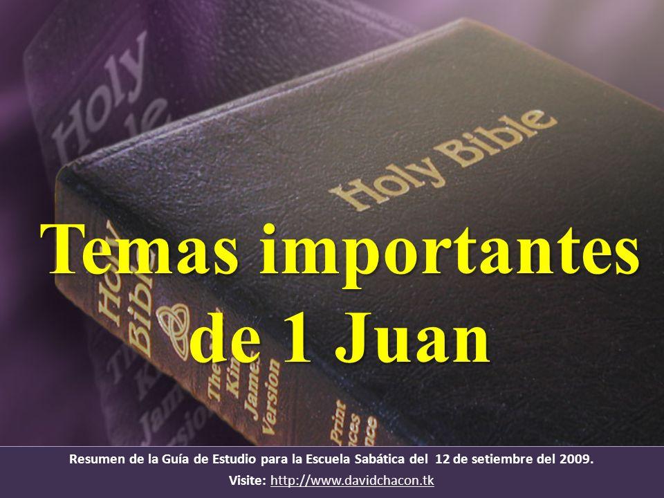 Confianza 1 Juan 3: 2.