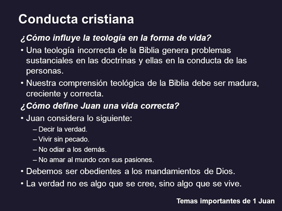 La verdad y las mentiras Temas importantes de 1 Juan Juan 14: 6.