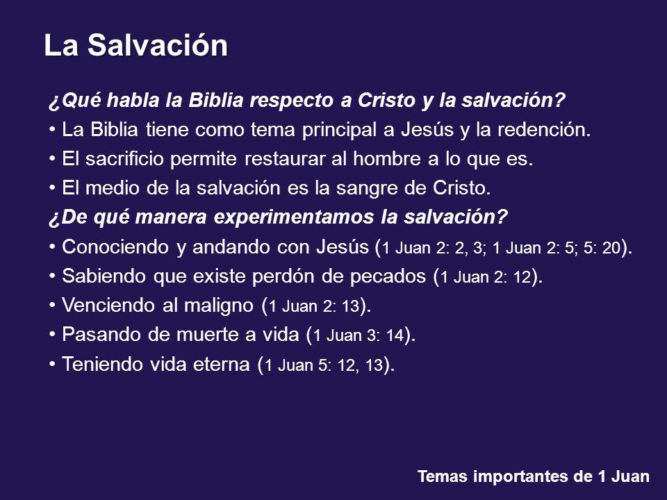 Conducta cristiana Temas importantes de 1 Juan 1 Juan 2: 15.