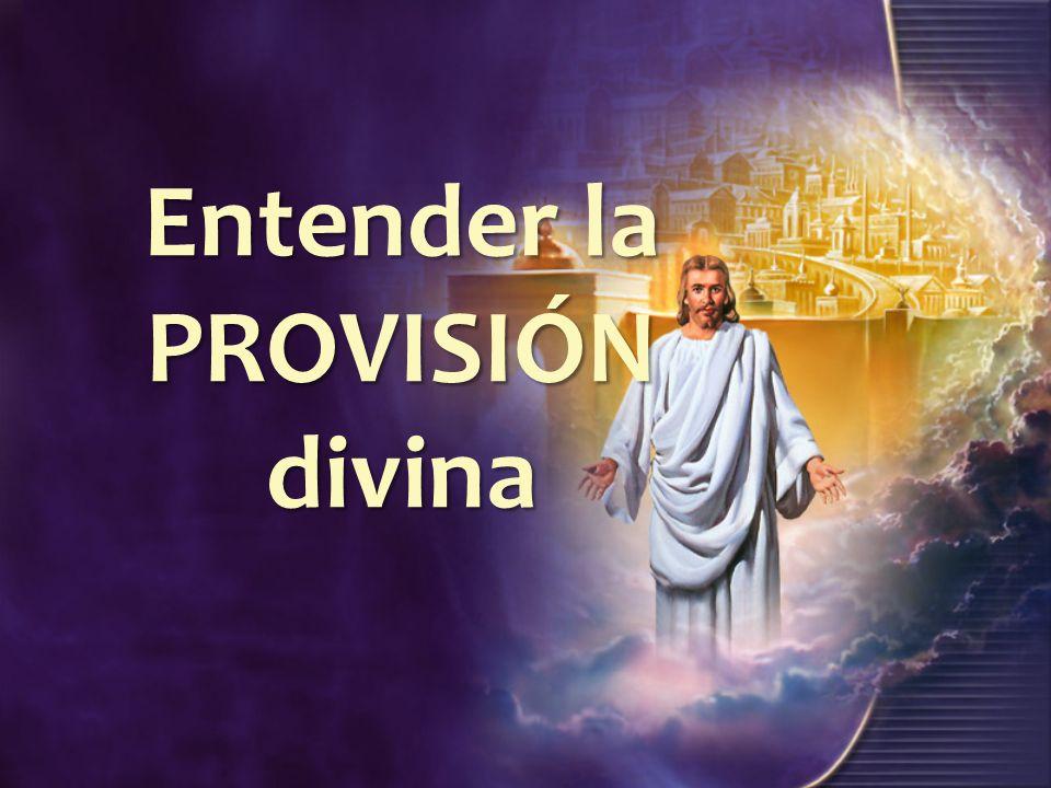 Entender la PROVISIÓN divina