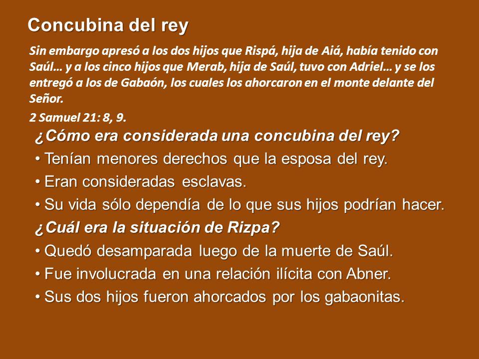 Fidelidad a toda prueba ¿Cómo Rizpa demostró su fidelidad.