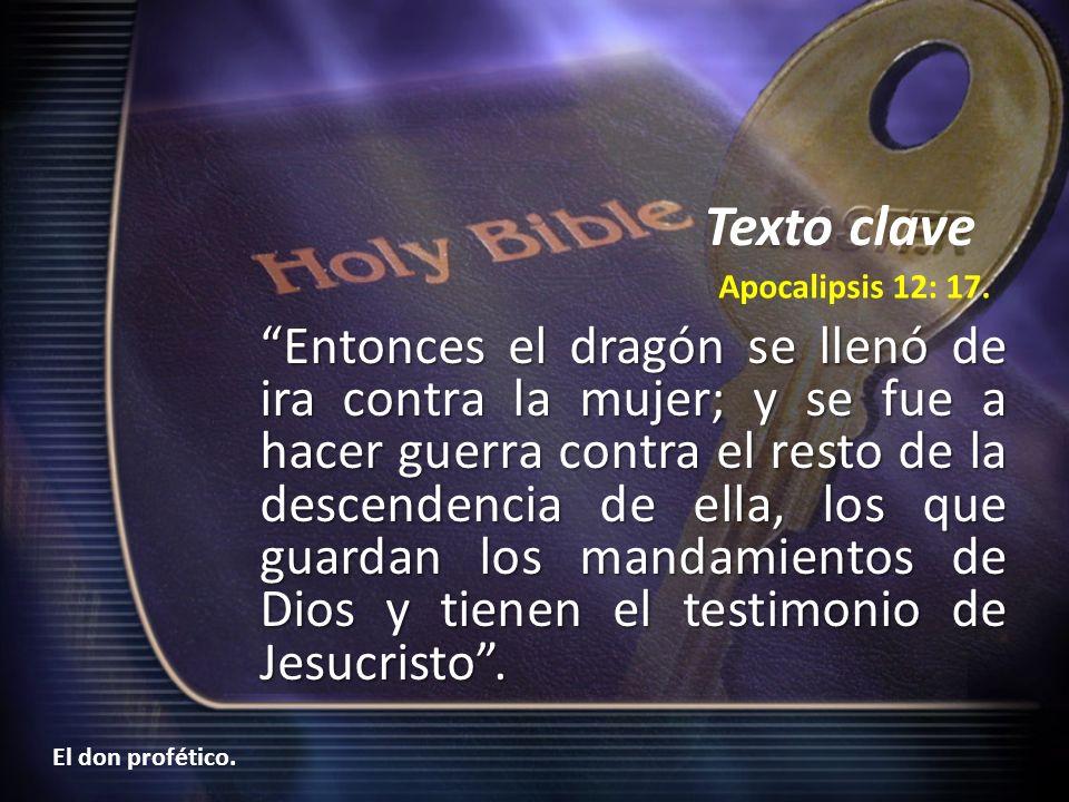 El don profético y la iglesia remanente de Dios El pueblo remanente ¿Qué características posee la iglesia remanente.