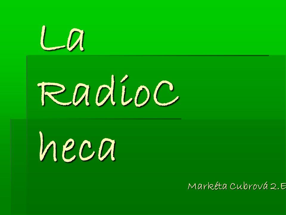 La RadioC heca Markéta Cubrová 2.E