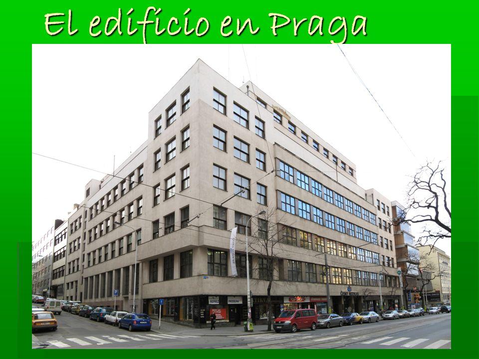 El edificio en Praga El edificio en Praga