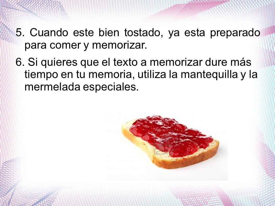 Precio del producto - Tres barras de pan de la memoria: 5, 95 - Una barra de pan: 2, 50 - Rebanadas: 3,00