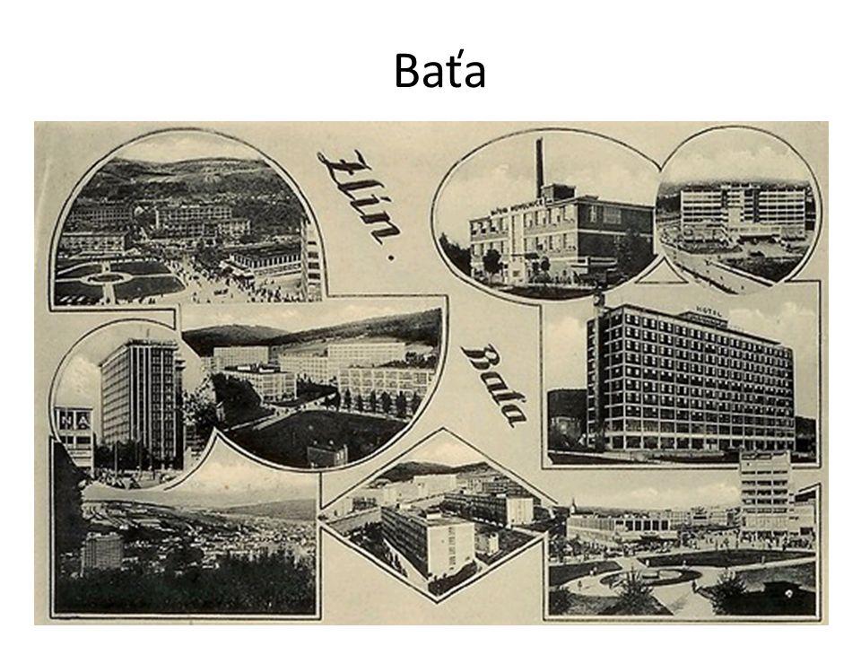 Filiales de Baťa