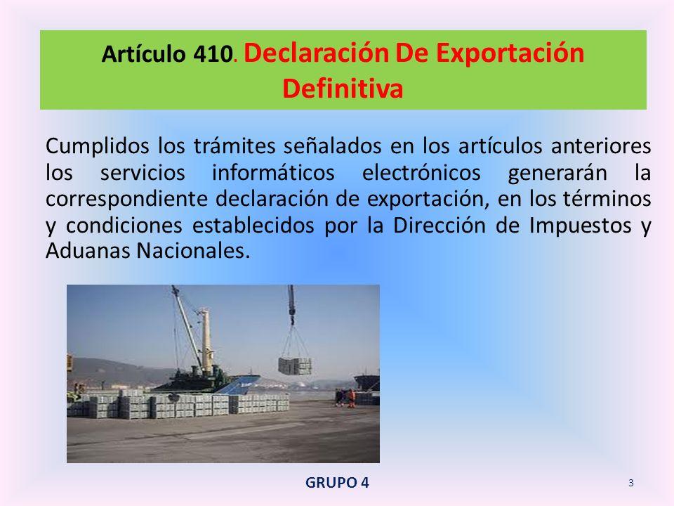 El declarante podrá modificar la declaración de exportación para cambiar el régimen de exportación temporal a definitiva o para sustituir al exportador en el régimen de exportación temporal, en los eventos previstos en este Decreto.