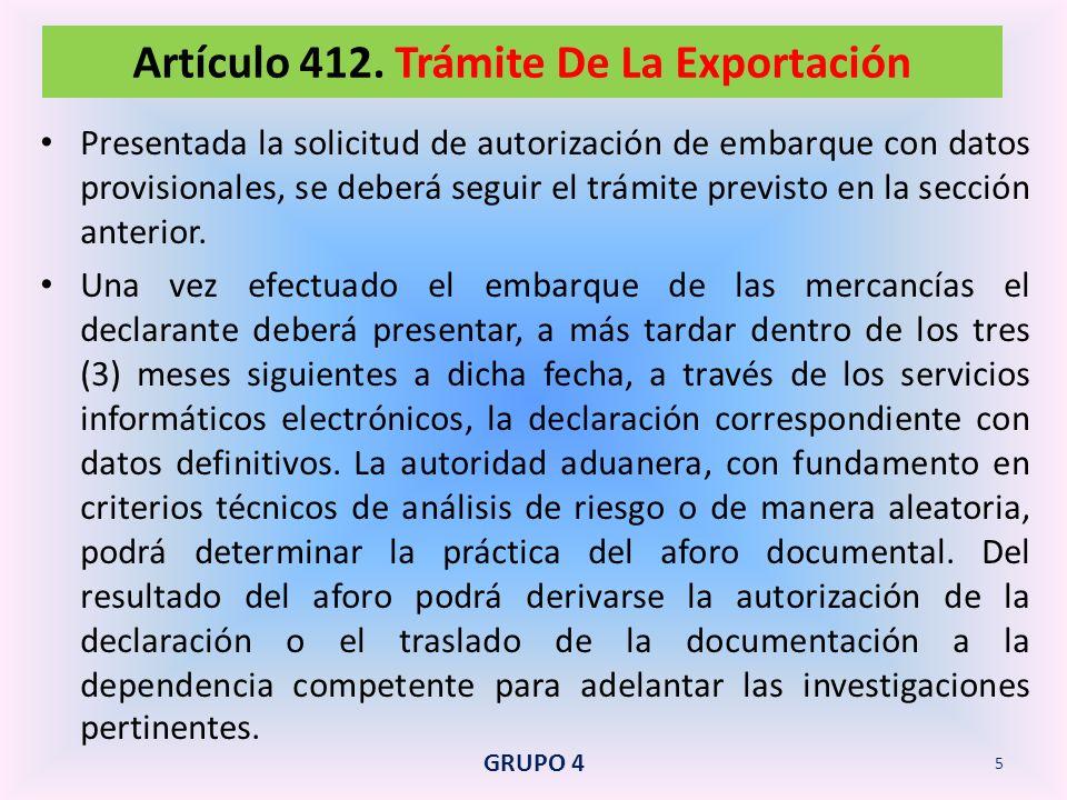 Es el régimen aduanero que permite exportar mercancías declaradas como muestra sin valor comercial, cuyo valor FOB total no sobrepase el monto que señale la Dirección de Impuestos y Aduanas Nacionales mediante resolución.