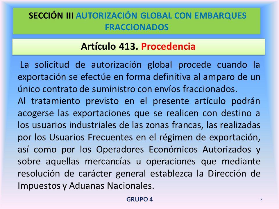 Artículo 431.