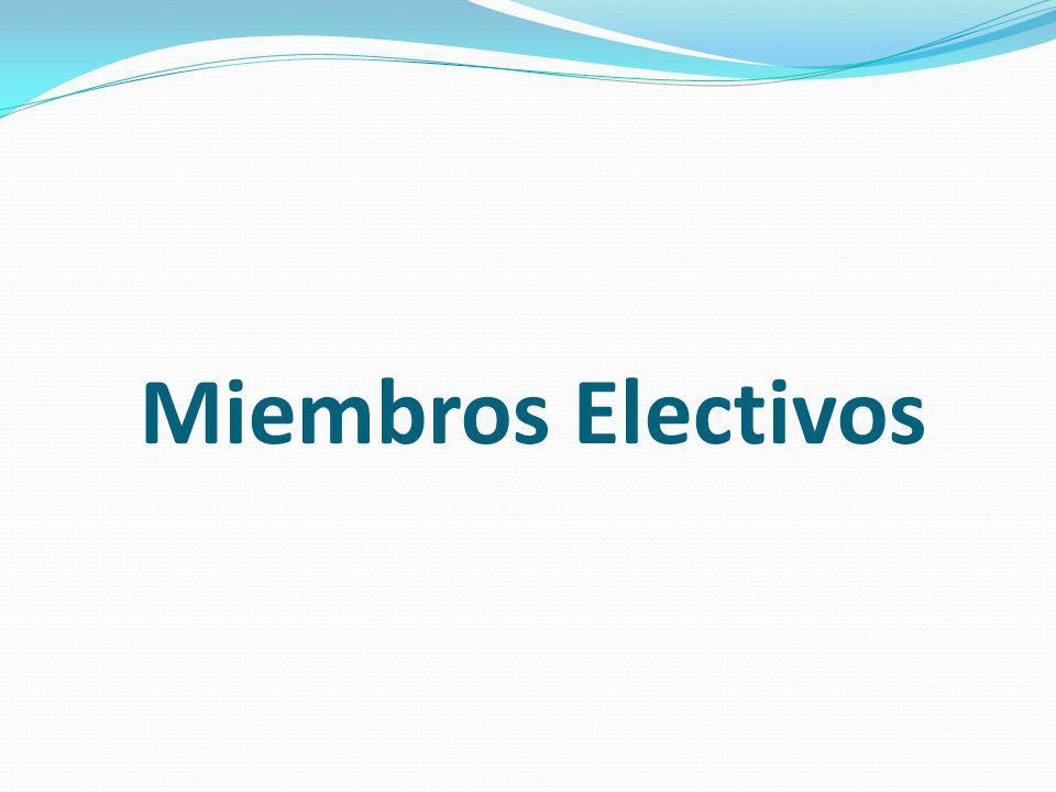 Miembros Electivos