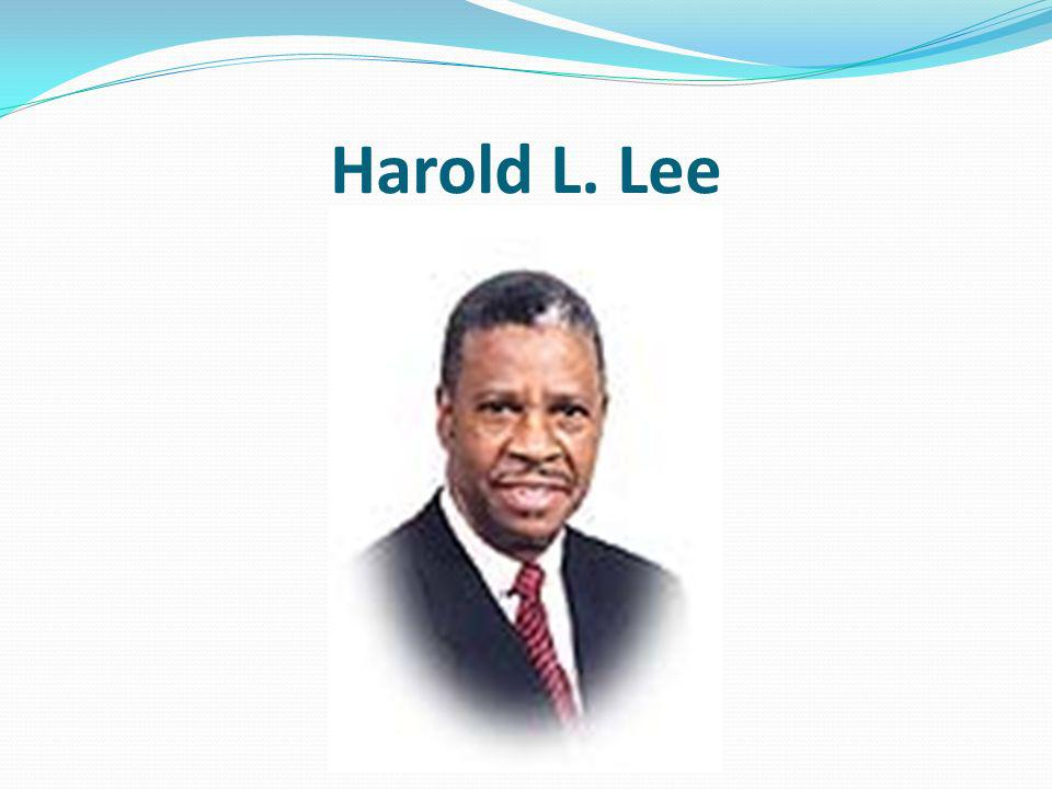 Harold L. Lee