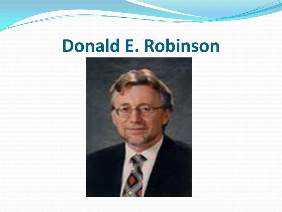 Donald E. Robinson