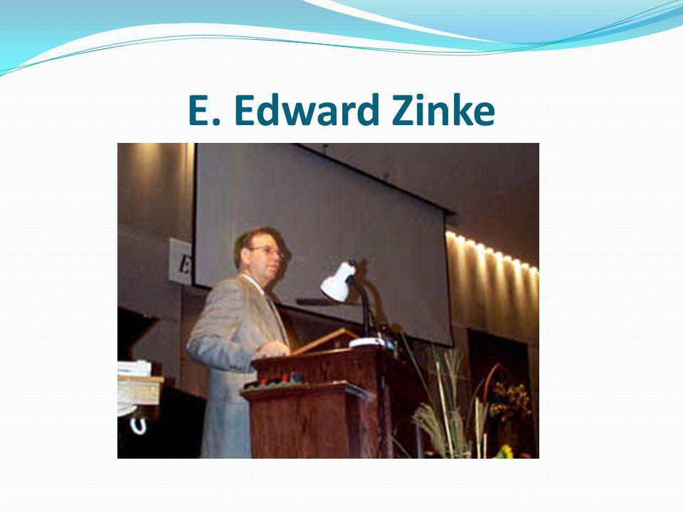 E. Edward Zinke