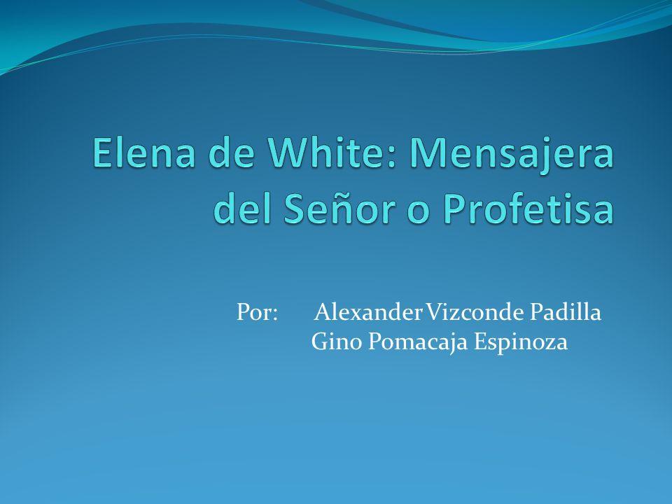 Por: Alexander Vizconde Padilla Gino Pomacaja Espinoza