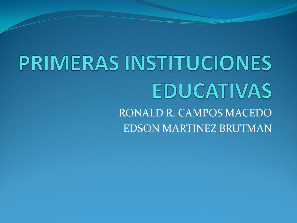 RONALD R. CAMPOS MACEDO EDSON MARTINEZ BRUTMAN