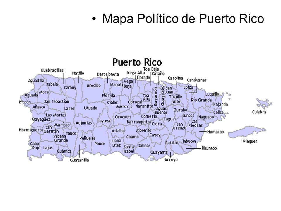 Mapa Político de Puerto Rico Fundación Educativa Héctor A. García