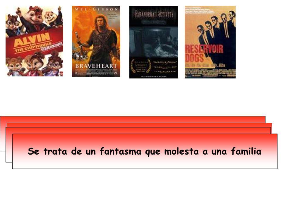 La acción tiene lugar en Escocia Es dirigida por Quentin Tarantino Es una película romántica y de humor Se trata de un fantasma que molesta a una familia